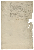 Acquittance from Thomas Goade of Didworth, Berkshire, to George Goade, his brother
