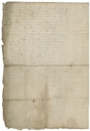 Abstract of title for Manor of Bradfield, 6 Henry VII to 4 Elizabeth