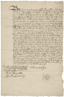 Acquittance from Thomas Watkins, London, to Richard Hale the elder, citizen and grocer