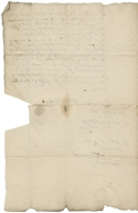 Acquittance from Henry Becke of Polesworth, Warwickshire, to William Becke of Freasley, Warwickshire