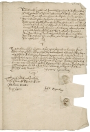 Bond from James Spurling of Weston and John Spurling of Weston to William Hale of King's Walden