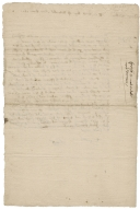 Surrender of copyhold from Thomas Bygge