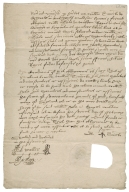 Bond from William Timicke?, malster of Ashwell, Hertfordshire to William Hale of King's Walden