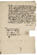 Acquittance from John Cooper of Hitchin, Hertfordshire, to William Fletcher
