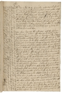 Letter from Captain Fa. Fortescue, Carlisle, to Edward Waker