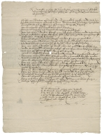Abstract of leases in the possession of Richard Hale