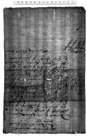 Acquittance from Edward Leder, bailiff of Clifford Hundred, Bedfordshire, to Matthew Ensame