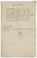 Acquittance from William Whisson of Edworth, Bedfordshire, to Rowland Hale