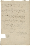 Acquittance from John Cooper of Hitchin, Herefordshire, to Thomas Daye of Kings Walden, Herefordshire