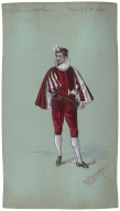 Costume studies for William Shakespeare's The Taming of the Shrew [graphic].