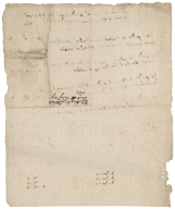 Account of money laid out for Saracen's head land