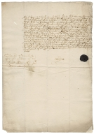 Acquittance from George Gryme of Gimingham, Norfolk, to Bernard Hale of Knapton, Norfolk