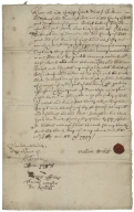 Acquittance from William Beckett of Bedford, Bedfordshire to Oliver Dillingham of Dean, Bedfordshire