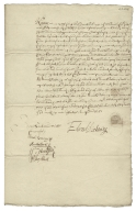 Acquittance from Edward Pickering of the parish of St. Giles in the fields, Middlesex, to William Hickes and John Cooke, both of London