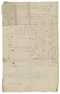 Receipted bill from Thomas Buckell?, blacksmith, to Horatio Townshend