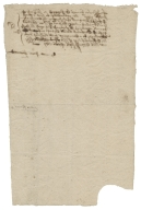 Acquittance from Peter Francis of Foxcott, Southamptonshire, to Joseph Hinxman of Andeurer, Southamptonshire