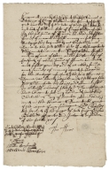 Acquittance from Thomas Thorne of King's Walden, Hertfordshire, to William Hale of King's Walden