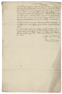 Articles of agreement between Alexander Comberbach and David Phillipps