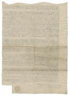 Articles of agreement between George Delahaye of Wateringbury, Kent and Roger Twysden of East Peckham, Kent