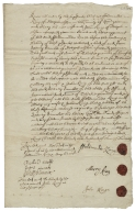 Acquittance from Ferdinando King of Steeple Aston, Oxfordshire, to Henry Lambe of Steeple Aston, Oxfordshire