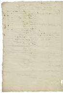 Account of rents, Lannock, Weston, Hertfordshire