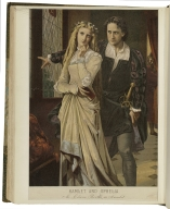Hamlet and Ophelia, Mr. Edwin Booth as Hamlet [in Shakespeare's Hamlet, act III, scene 1] [graphic] / [H. Bencke].