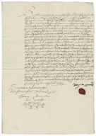 Acquittance from Roger Arnold of Aslacton, Norfolk to Thomas Todd the younger of Burston, Norfolk
