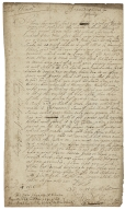 Letters and note to and from John Martin