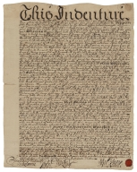 Indenture with Pentecost Teague of Philadelphia, merchant, John Popel's attorney, and Colonel Robert Quary of Philadelphia, Esq [manuscript], 1709 December 12.