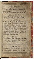 The Compleat English and French vermin-killer : being a necessary family-book : shewing a ready way to destroy bugs, lice, fleas, moles, adders, badgers, birds of all sorts, ducks, earwigs, flies, fish, foxes, frogs, gnats, mice, otters, pismires, pole-cats, rabbets, rats, snakes, scorpions, snails, spiders, toads, wants or moles, wasps, weasles, worms in houses, gardens, &c : also directions for gardeners, with many modern curiosities of art and nature.