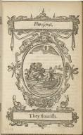 Kalendarium humanæ vitæ. = The kalender of mans life. Authore Roberto Farlæo. Scoto Britanio.