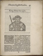 The nine English worthies: or, Famous and worthy princes of England, being all of one name; beginning with King Henrie the first, and concluding with Prince Henry, eldest sonne to our Soueraigne Lord the King.