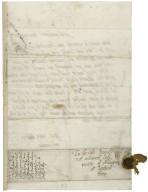 Letter from Elizabeth Stuart, Countess of Lennox, to Elizabeth Hardwick Talbot, Countess of Shrewsbury, Hardwick