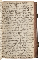 A boocke of very good medicines for seueral deseases, wounds, and sores both new and olde [manuscript].
