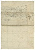 Autograph letter signed from William Wentworth, Lord Raby, Helsing�r, to Sir George Radcliffe