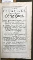 Two treatises : the one medical, of the gout, and its nature more narrowly search'd into than hitherto; together with a new way of discharging the same. By Herman Busschof Senior of Utrecht, residing at Batavia in the East-Indies, in the service of the Dutch East-India Company. The other partly chirurgical, partly medical; containing some observations and practices relating both to some extraordinary cases of women in travel; and to some other uncommon cases of diseases in both sexes. By Henry Van Roonhuyse, physitian in ordinary at Amsterdam. Englished out of Dutch by a careful hand.