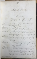 The factions of Verona [manuscript], ca. 1820.