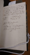 Autograph album compiled by Elizabeth Saunders [manuscript], ca. 1826-1851.