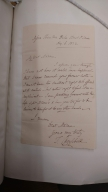 Autograph letters signed from Thomas Campbell, London, to Anna Jameson [manuscript], 1832 August-December.