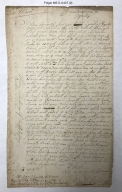 Letters and note to and from John Martin [manuscript], 1686-1699.
