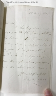 Autograph letters signed from Thomas Hailes to James Maidment [manuscript], 1851-1853.