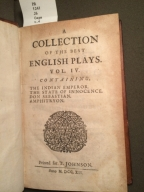 A collection of the best English plays. Vol. I. Containing, Julius Caesar; Macbeth; Hamlet; Othello: by Mr. Wm. Shakespear.