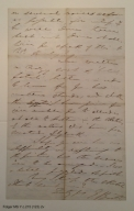 Autograph letter signed from Edwin Booth to Henry L. Hinton, 1866 October 28