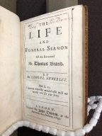 The life and funeral sermon of the Reverend Mr. Thomas Brand. By Dr. Samuel Annesley.