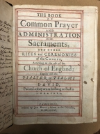 The book of common prayer, and administration of the sacraments : and other rites and ceremonies of the Church, according to the use of the Church of England : together with the Psalter or Psalms of David, pointed as they are to be sung or said in churches.