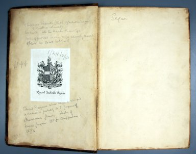Pastedown, inside front cover, STC 22164 copy 3.