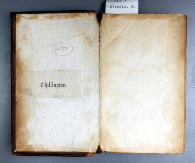 Pastedown, inside front cover, STC 22553 copy 3.