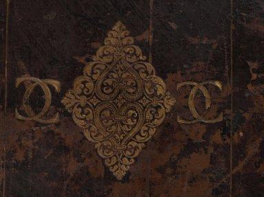 centerpiece and monogram detail