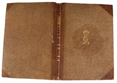 Covers and spine, INC A186.2.