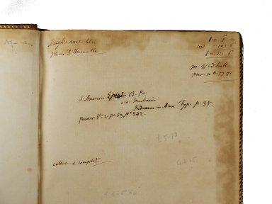Roger Payne's invoice (detail), INC A490.